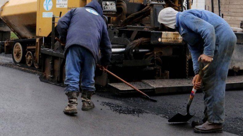 Concluyen mañana obras de asfalto en San Lorenzo