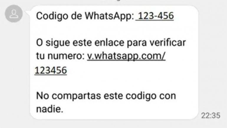 El mensaje de WhatsApp con el que podrían hackear tu usuario