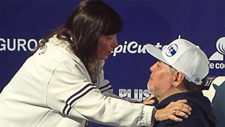 Sos lo más grande: el emocionante gesto de la hermana de CFK con Diego