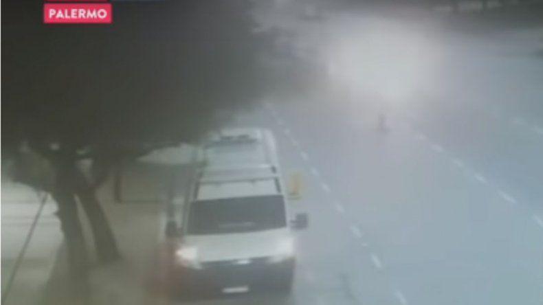 Así fue el accidente en el que murió un agente de tránsito