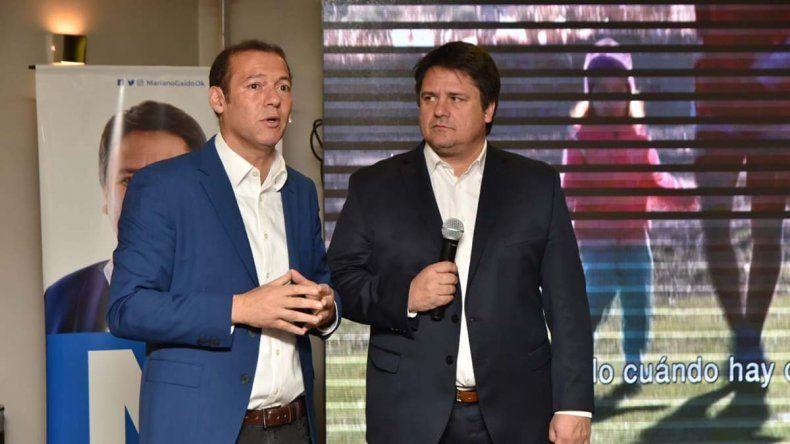 Gaido y Gutiérrez presentaron la propuesta deportiva y cultural para la ciudad