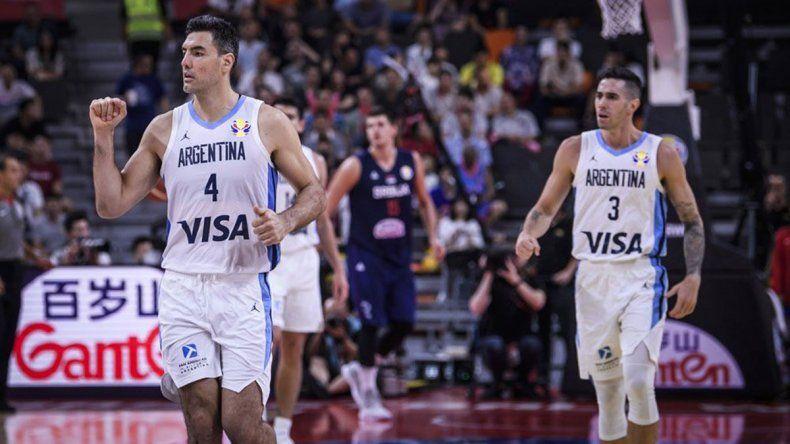 Argentina hace historia: venció a Serbia y está en semis