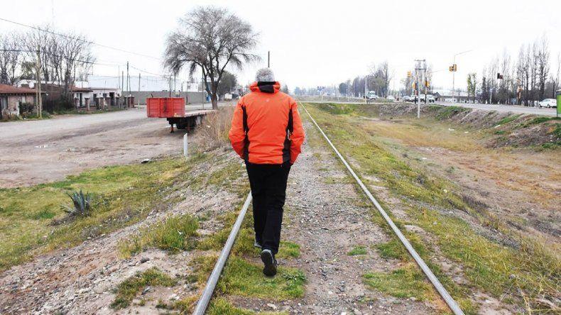 Peressini asegura que tiene todo listo para que llegue el tren a Plottier