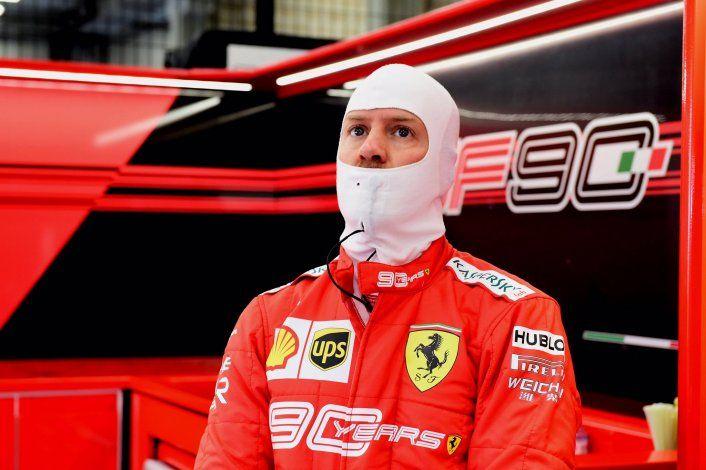 Sebastian Vettel está al borde de recibir una fecha de suspensión