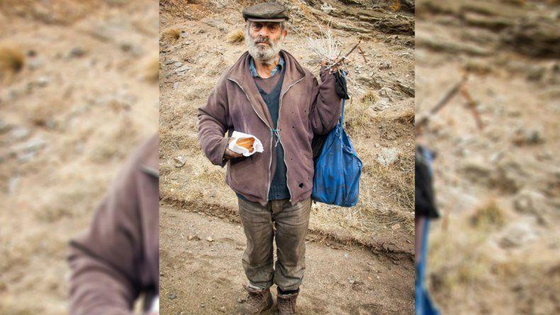 Dolor: murió Argentino, el ermitaño de Collón Cura