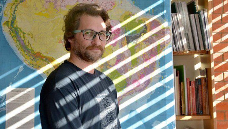 Andrés Folguera, investigador en el Departamento de Ciencias Geológicas de Exactas UBA.
