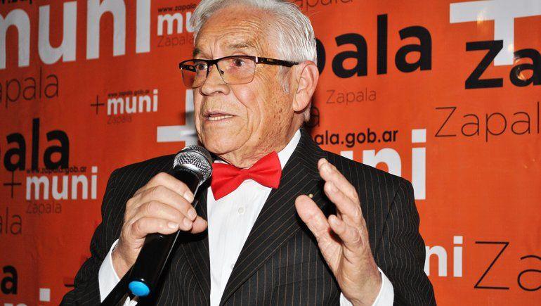 Zapala le rindió un homenaje al artista local Mario Argat