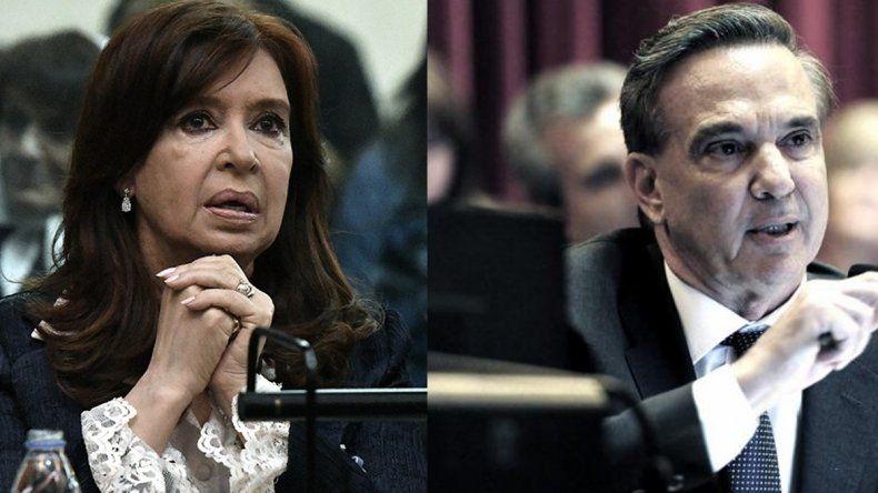 Pichetto quiere debatir con Cristina y formalizó el pedido ante la Cámara Electoral