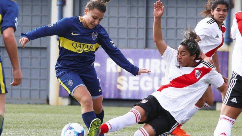 El histórico torneo profesional de fútbol femenino arrancará ¡con el superclásico!