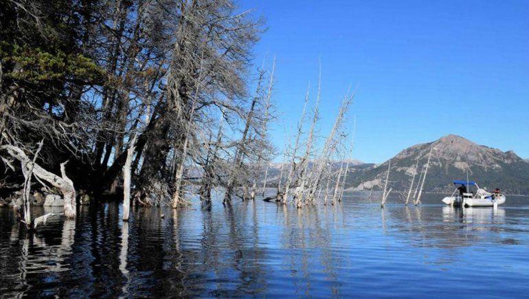 Reforzarán el monitoreo de la ladera que podría generar un tsunami en el Lago Traful