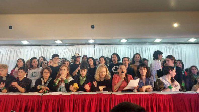 Actrices Argentinas acompañó denuncias de acoso sexual contra el ex director del Teatro San Martín
