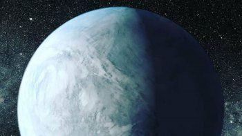 detectaron agua en la atmosfera de un planeta habitable