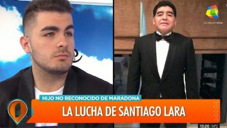 Diego Maradona se prepara para reconocer a otro hijo
