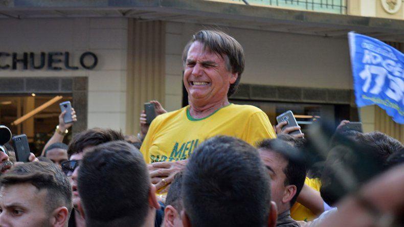 El cuchillo que casi mata a Bolsonaro va a un museo