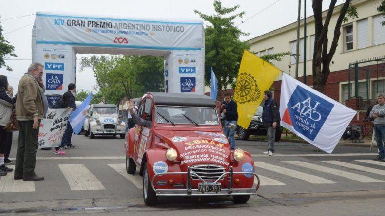 Mañana se pone en marcha el XVII Gran Premio Argentino Histórico