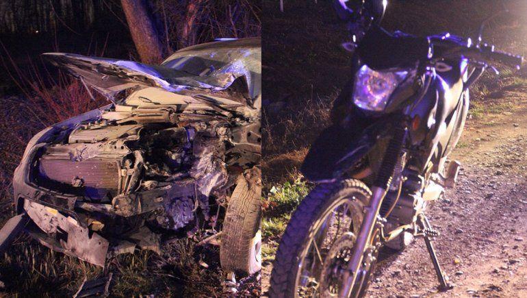 Un policía a bordo de su moto murió tras ser embestido por una camioneta