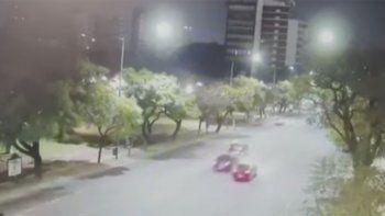 el video que complica al periodista que mato a una agente de transito