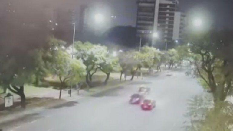 El video que complica al periodista que mató a una agente de tránsito: manejaba a 130 km/h