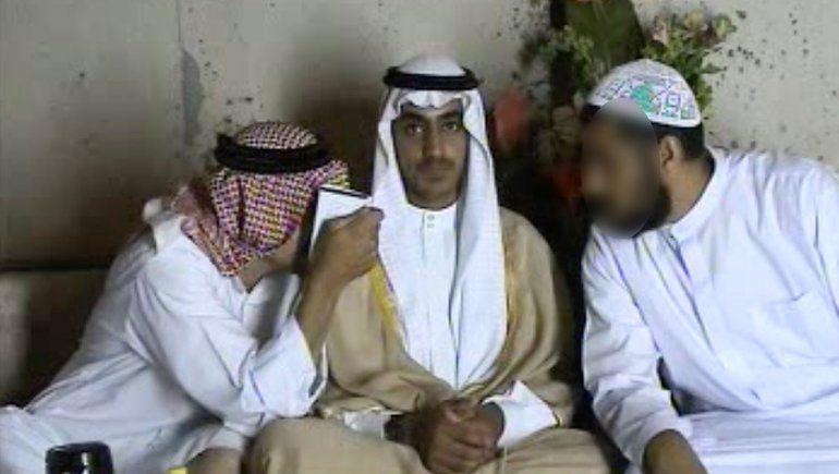 Trump anunció que en un operativo mataron al hijo de Bin Laden