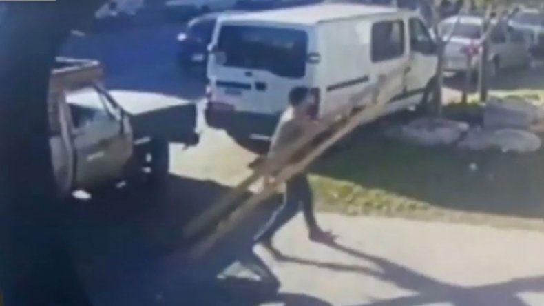 En Rosario se roban hasta las luces led de la calle