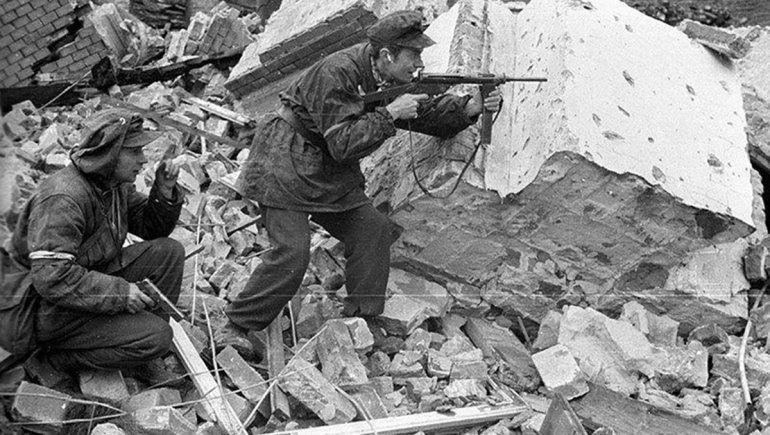El levantamiento de Varsovia generó batallas diarias en las calles de la ciudad.
