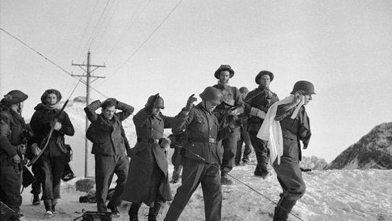 Los prisioneros eran trasladados a pie durante centenares de kilómetros.