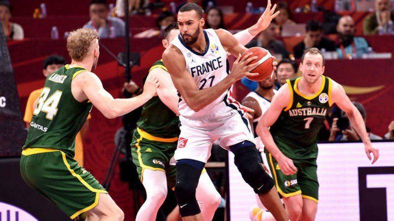 Francia remontó 15 puntos y se quedó con el tercer puesto ante Australia