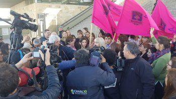 trabajadores de la legislatura y del deliberante reclamaron justicia por el brutal crimen
