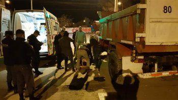 un joven fue aplastado por su propio camion en zapala