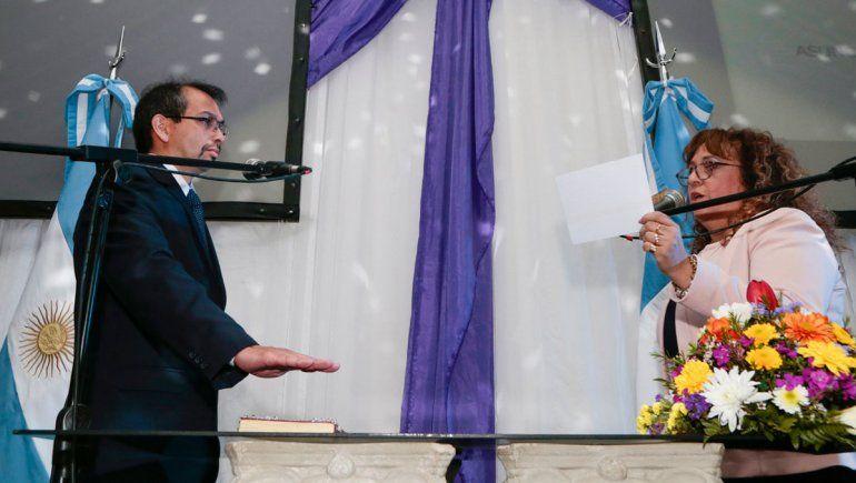 Asumió Gustavo Suárez el gobierno de Plaza Huincul