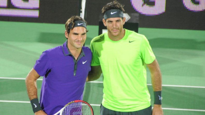 ¡Pobre Delpo! Ahora se baja de la exhibición con Federer