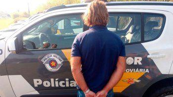detuvieron a maguila puccio en brasil, en un control antidrogas