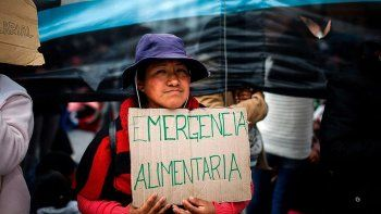 emergencia alimentaria: el senado vota hoy