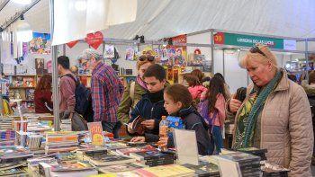 feria del libro: el 30% de visitantes vino del interior