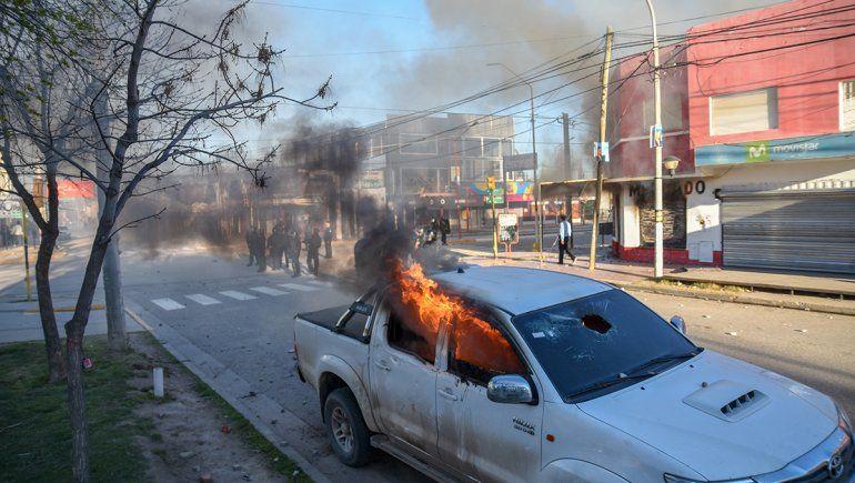 Plottier: liberaron a los cuatro demorados por los incidentes
