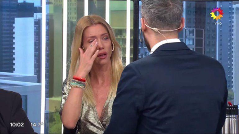 El llanto de Nicole en vivo y una fuerte acusacióncontra Cubero