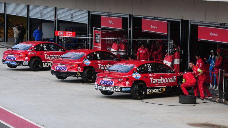 Alvarez, Lambiris y De Benedictis, los invitados de Fiat para los 200Km de Buenos Aires