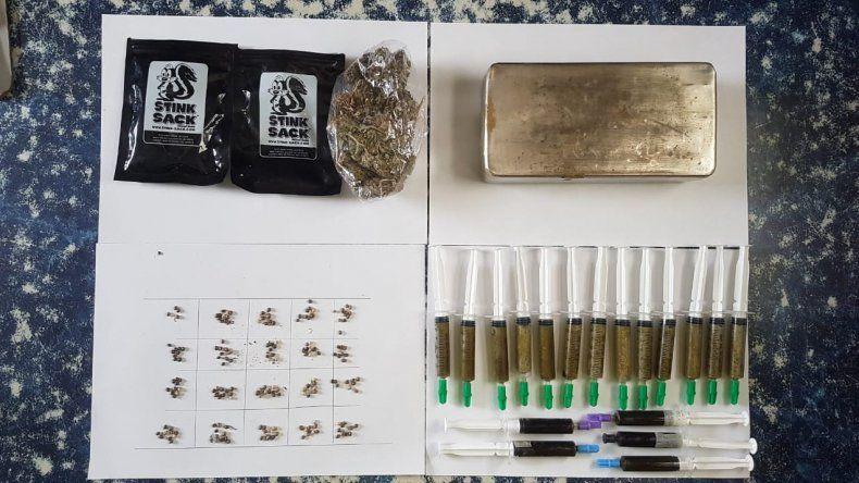Viajaba a San Martín de los Andes y lo demoraron con marihuana