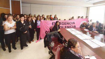 tras el femicidio de cielo, debaten la emergencia en violencia contra las mujeres