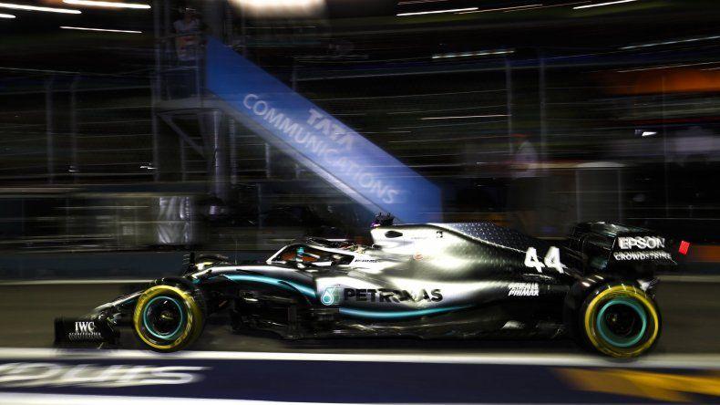 Lewis Hamilton, el hombre de la referencia en Singapur