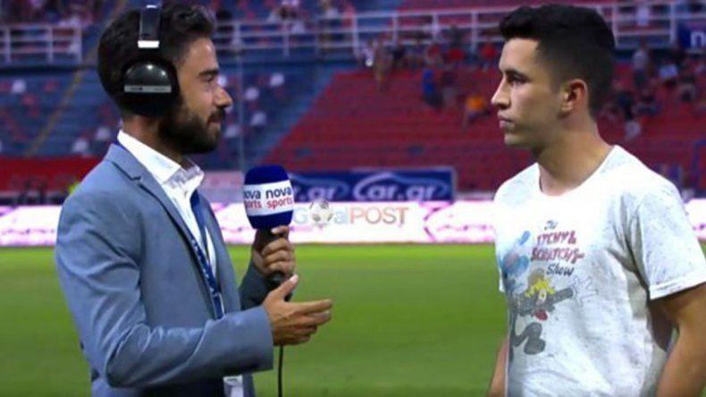 La rompen por el mundo: Joaco Torres debutó con gol en Grecia, y Del Prete metió otro en Uruguay