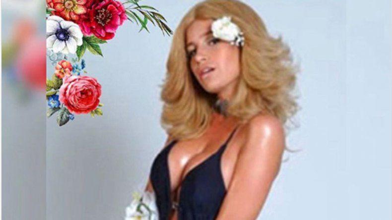 Moni Argento se puso hot para recibir la primavera