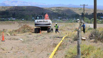 300 familias de loncopue tendran gas en noviembre