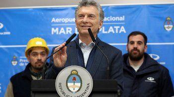 prometio seguir llevando alivio a las familias argentinas