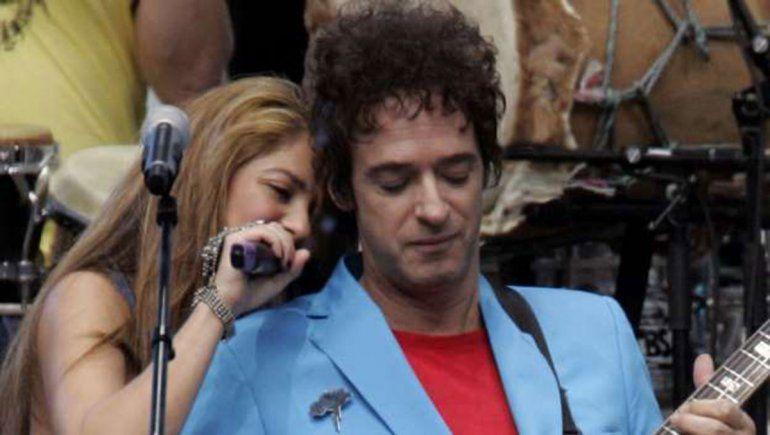 Shakira recordó a Gustavo Cerati en Instagram