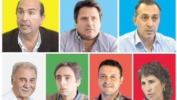 la ciudad elige hoy a su nuevo intendente: el sucesor de quiroga entre siete candidatos