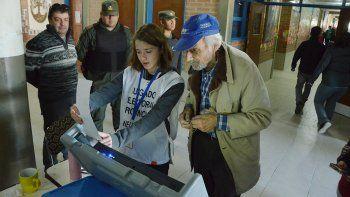 los jovenes fueron protagonistas del domingo electoral