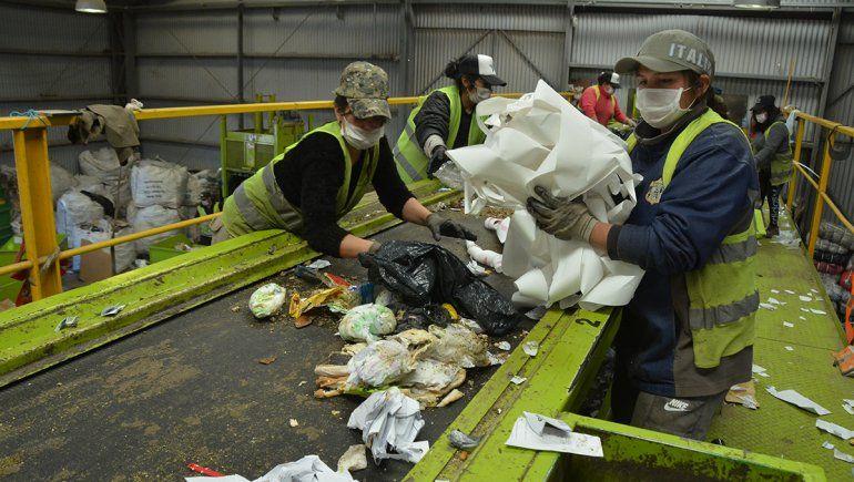 El reciclaje alcanzó el 60% de la basura domiciliaria
