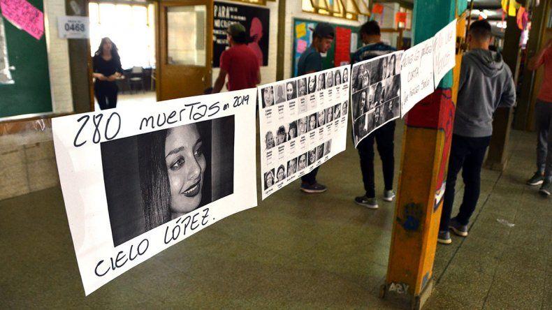 Femicidio de Cielo: el Ministerio de Educación recibió reclamos de estudiantes de Plottier