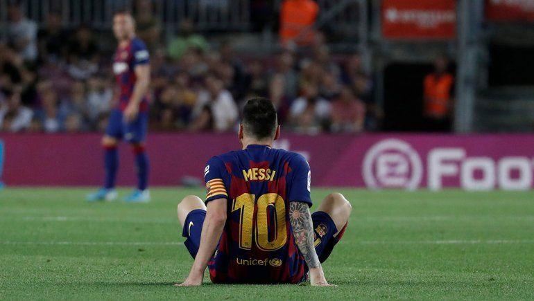 Messi: solo 160 minutos en 80 días y muchas lesiones
